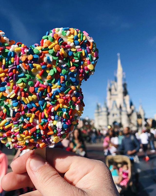 Disney food on the blog today. Enough said.