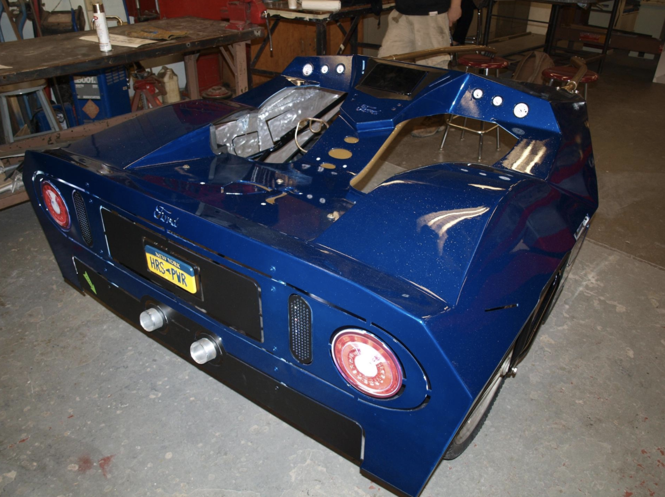 Students at Pine Bush High School were commissioned to redesign the sulky.