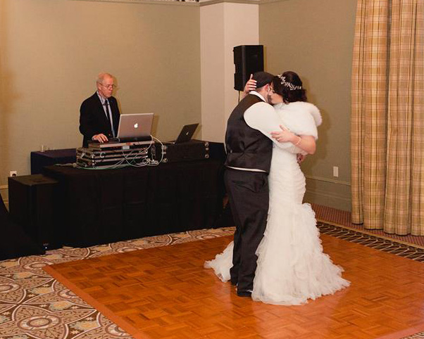 This was a very small and intimate high-end wedding with a remarkable group of people at the Omni Mount Washington Hotel.  Even with a small group they danced the night away!