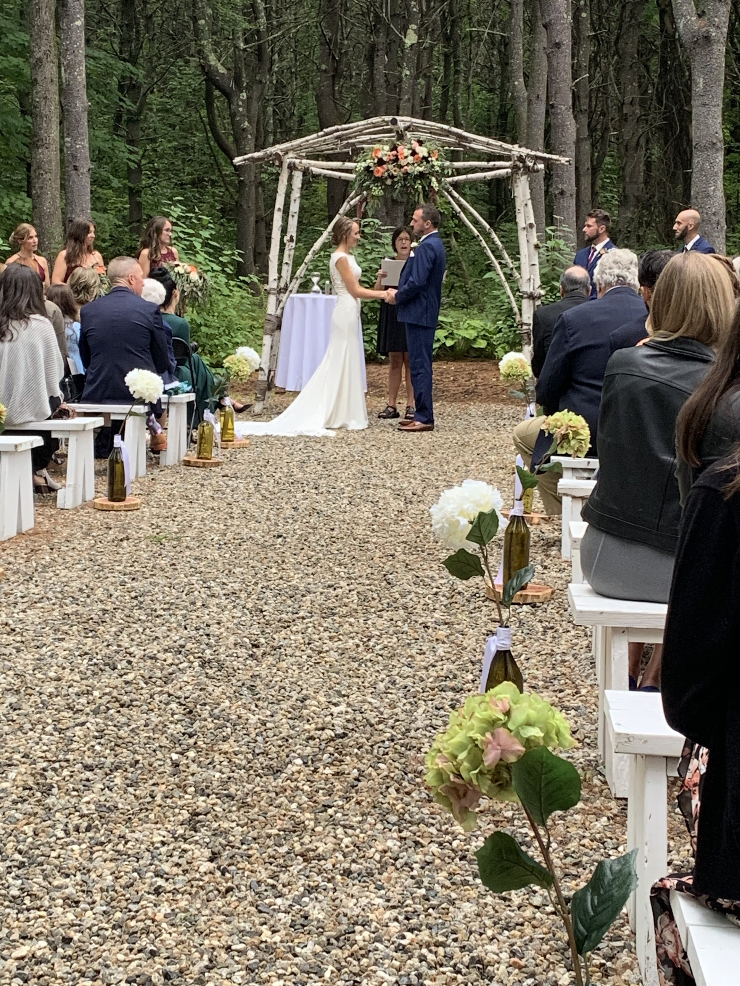 What a great couple, the ceremony was great an the music from djWBOB was perfect !!!!
