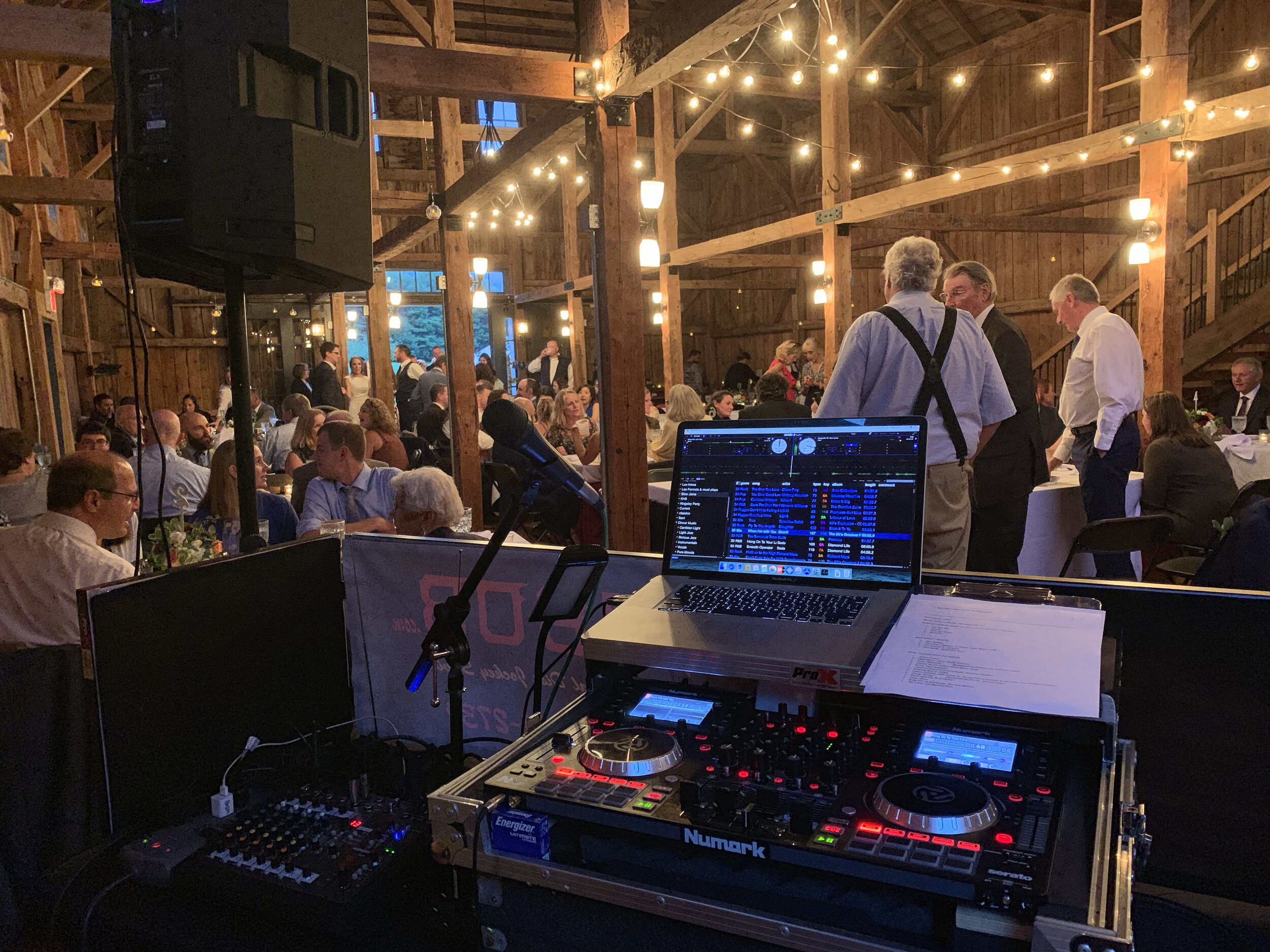 Great Music, Great Barn, Great Wedding