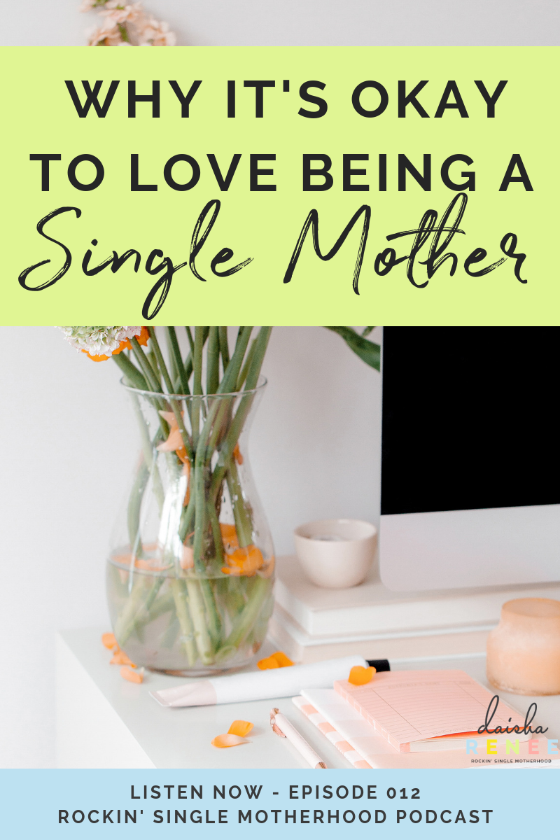 Okay, so today's topic on the RSM podcast is all about being okay to love being a single mom. Don't get me wrong I'm not saying accepting the bad that comes with your situation, like dealing with a deadbeat dad, financial woes, or co-parenting fails for an example.
