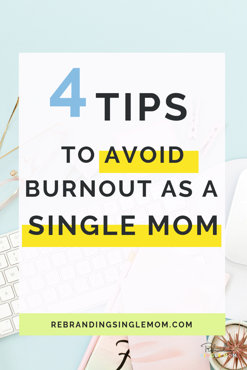 Are you a single mom taking on more than necessary? Probably. Are you avoiding delegating tasks either because you do it better or you don't wait to be let down, disappointed when the person lets you down?  Most likely. When you pay attention to the details and routines in your life, you may find the answer to your problem.