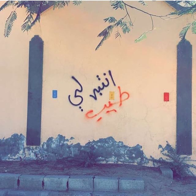 "الطايف - Taif ""Give me attention"" - #saudistreetart"