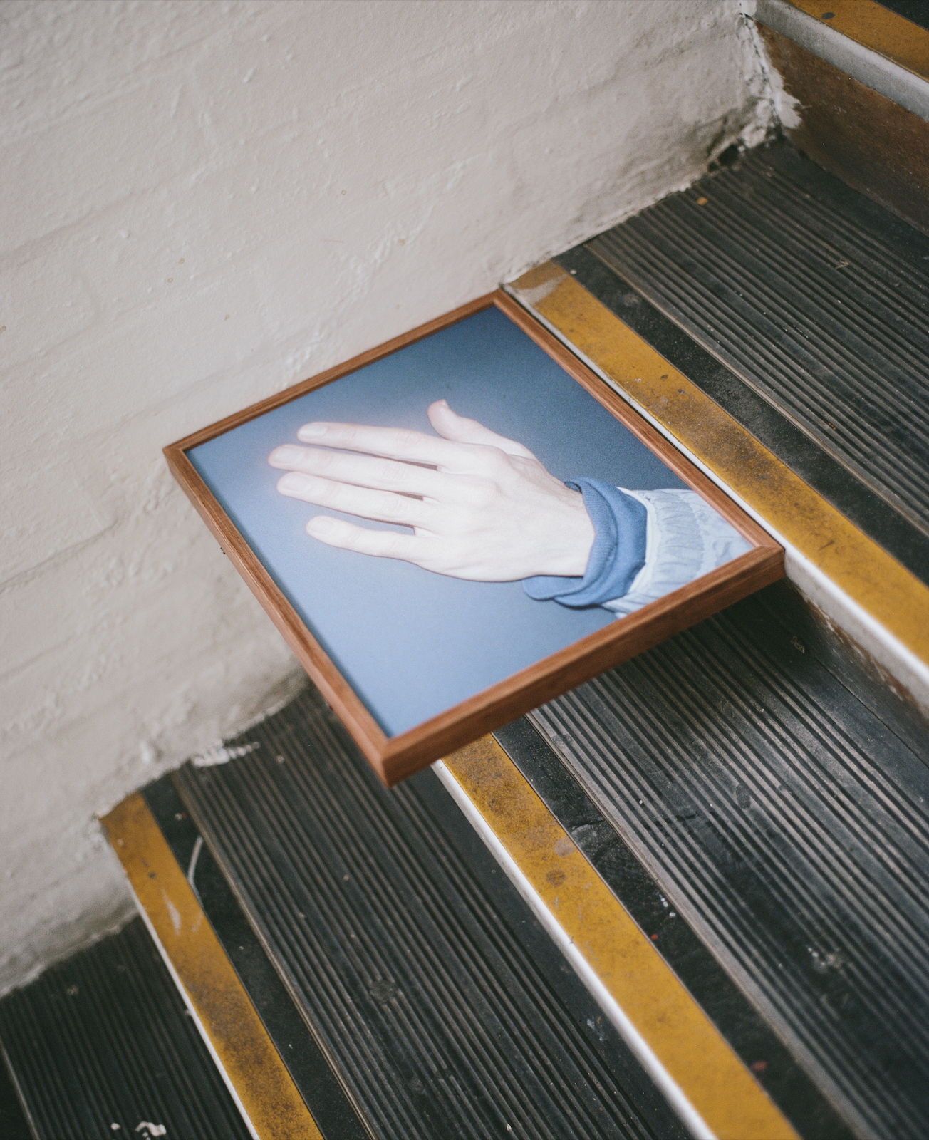 Soft , archival matte inkjet print mounted and framed within stained Tasmanian Oak, 31 x 40 cm, 2018.  Available to purchase at: https://timhardy.bigcartel.com.