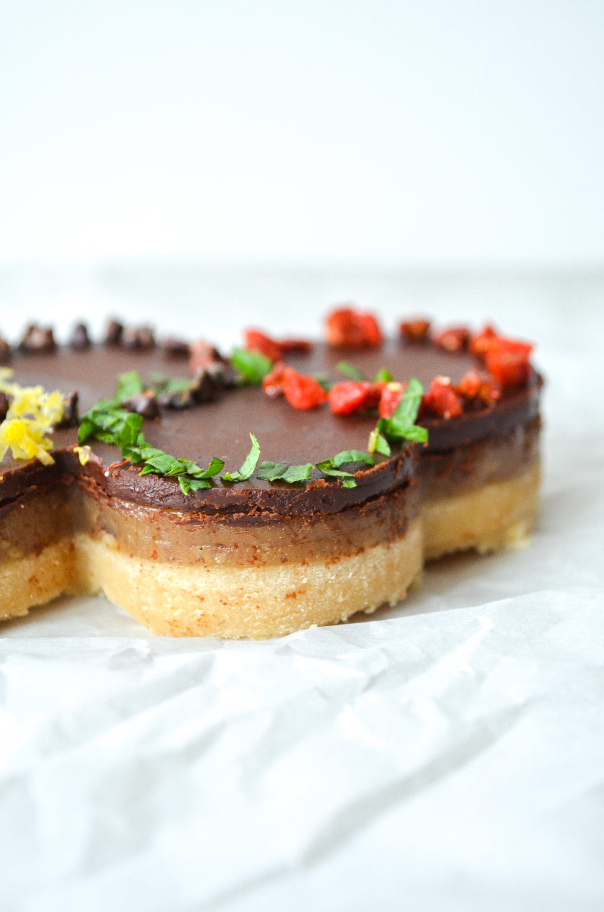 olympic rings three layer cookie // #ShiraRD #paleo #refinedsugarfree #SnacksbyShira.jpg