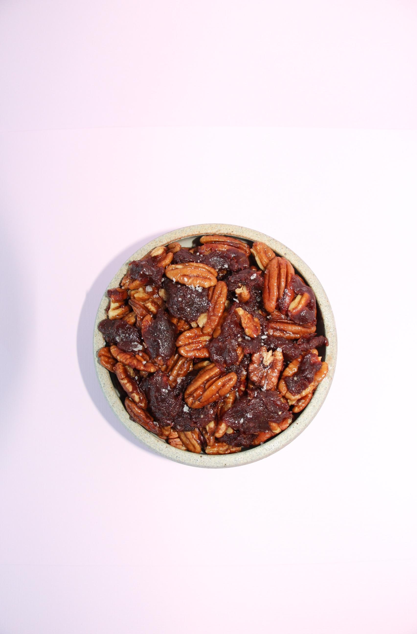 shiraRD paleo chocolate caramel pecans shira lenchewski the food therapist .jpg