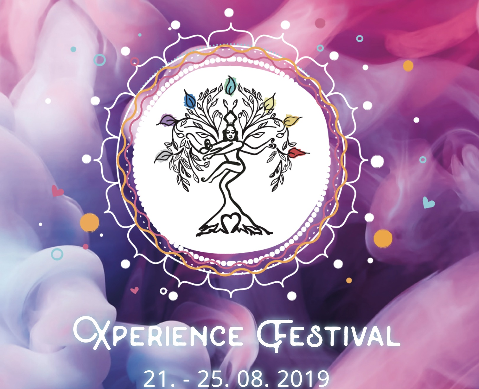 Xperience Festival  21 - 25 August 2019 - Join Aria and Gus for the wonderful Xperience Festival an art, yoga and music fest held in Germany!Our schedule for the FestivalYoga: Fr 16:45-18:15 | 90min | Heart Opening | YogaYogaYay!Yoga: Sa 10:00-11:30 | 90min | Inverted Tips and Tricks! | PlaygroundYoga: So 8:00-9:30 | 90min | Warrior Flow | YogaYogaYay!Festival location: Yogaweg 7 Horn-Bad Meinberg
