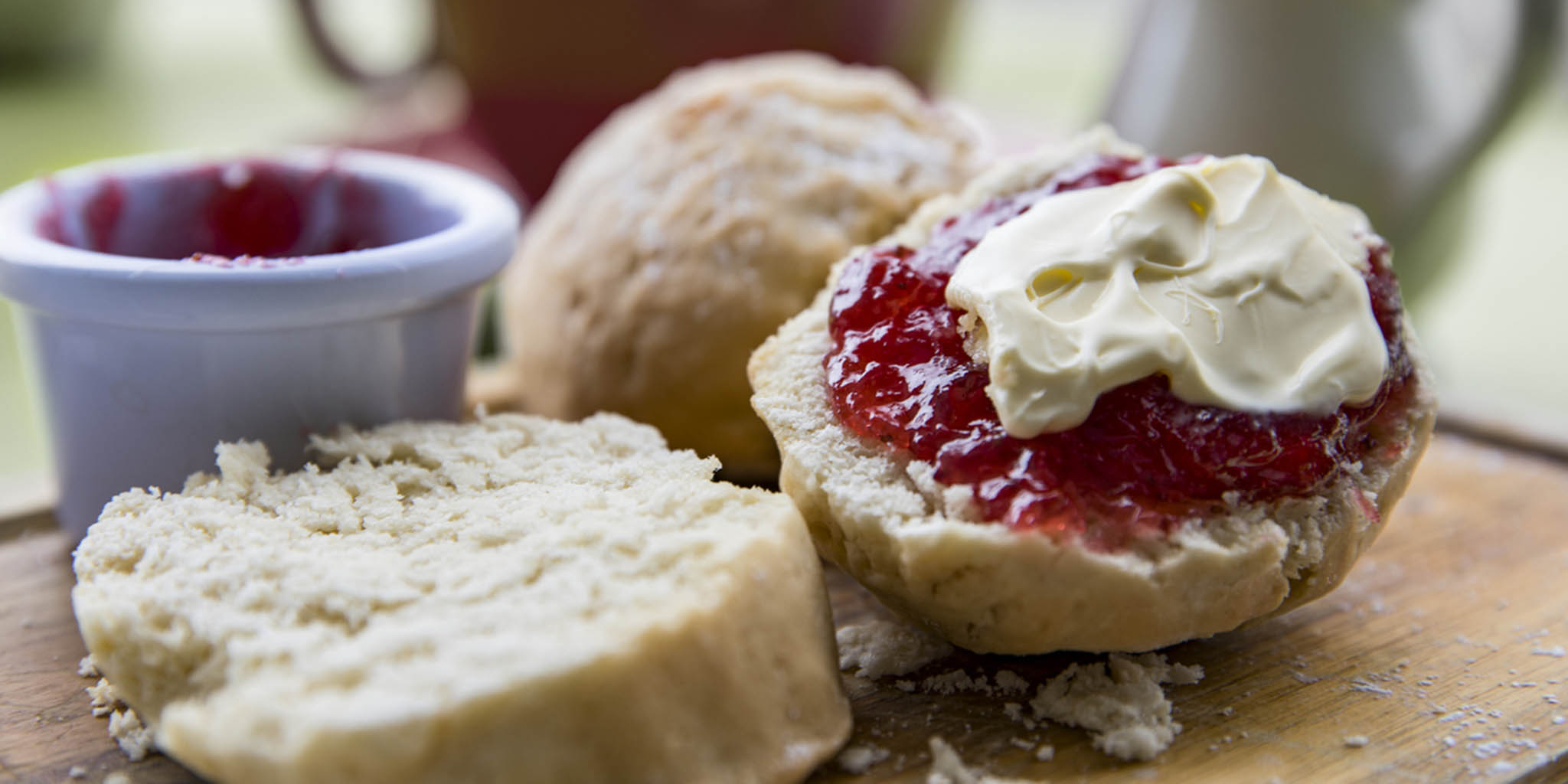 Join us for   Afternoon Cream Tea