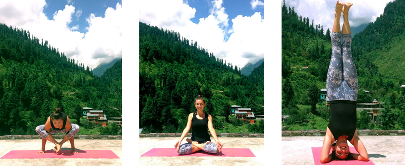 Me in Manali, India, after six months of Ashtanga teacher training