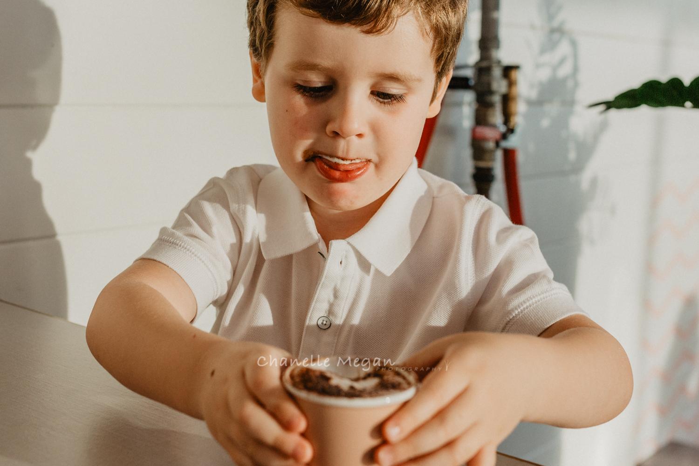 Perth children's photographer: Chanelle Megan Photography captures a lifestyle portrait of a boy