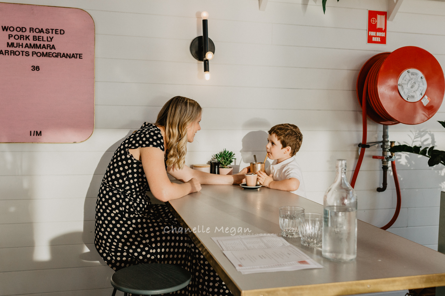 perth local, photography session in a cafe by Chanelle Megan Photography