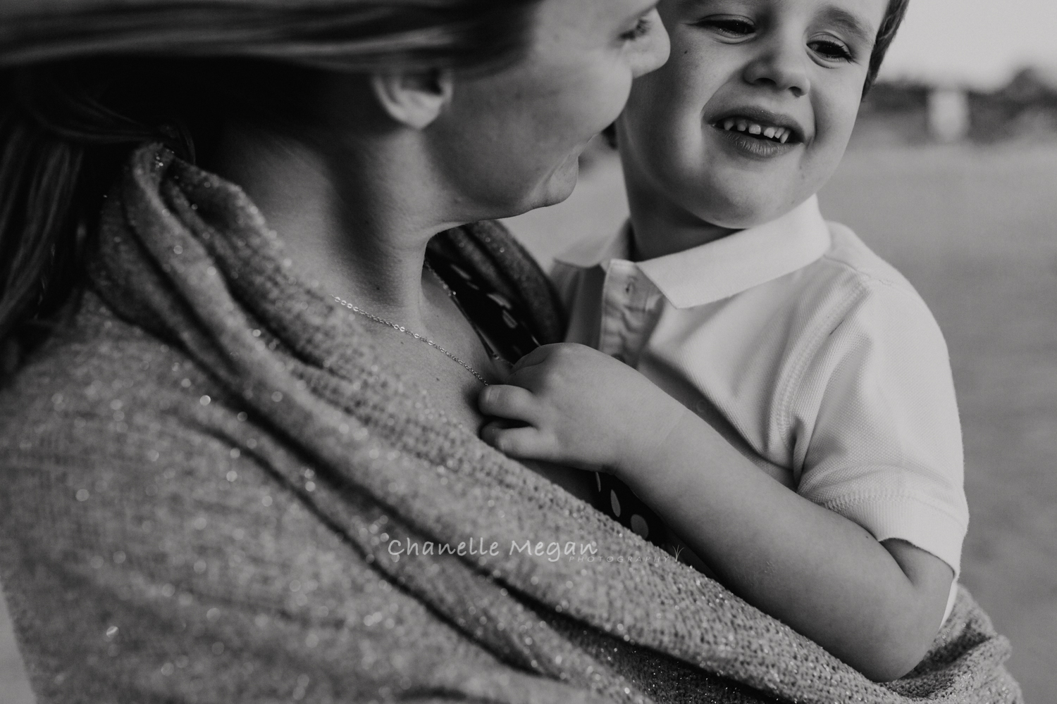 detail black and white image by Perth family Photographer, Chanelle Megan Photography