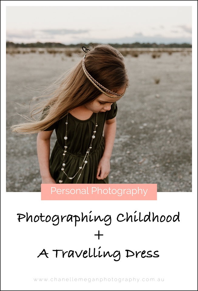 Chanelle Megan Photography captures the magic of childhood utilising a travelling dress that passed through Perth