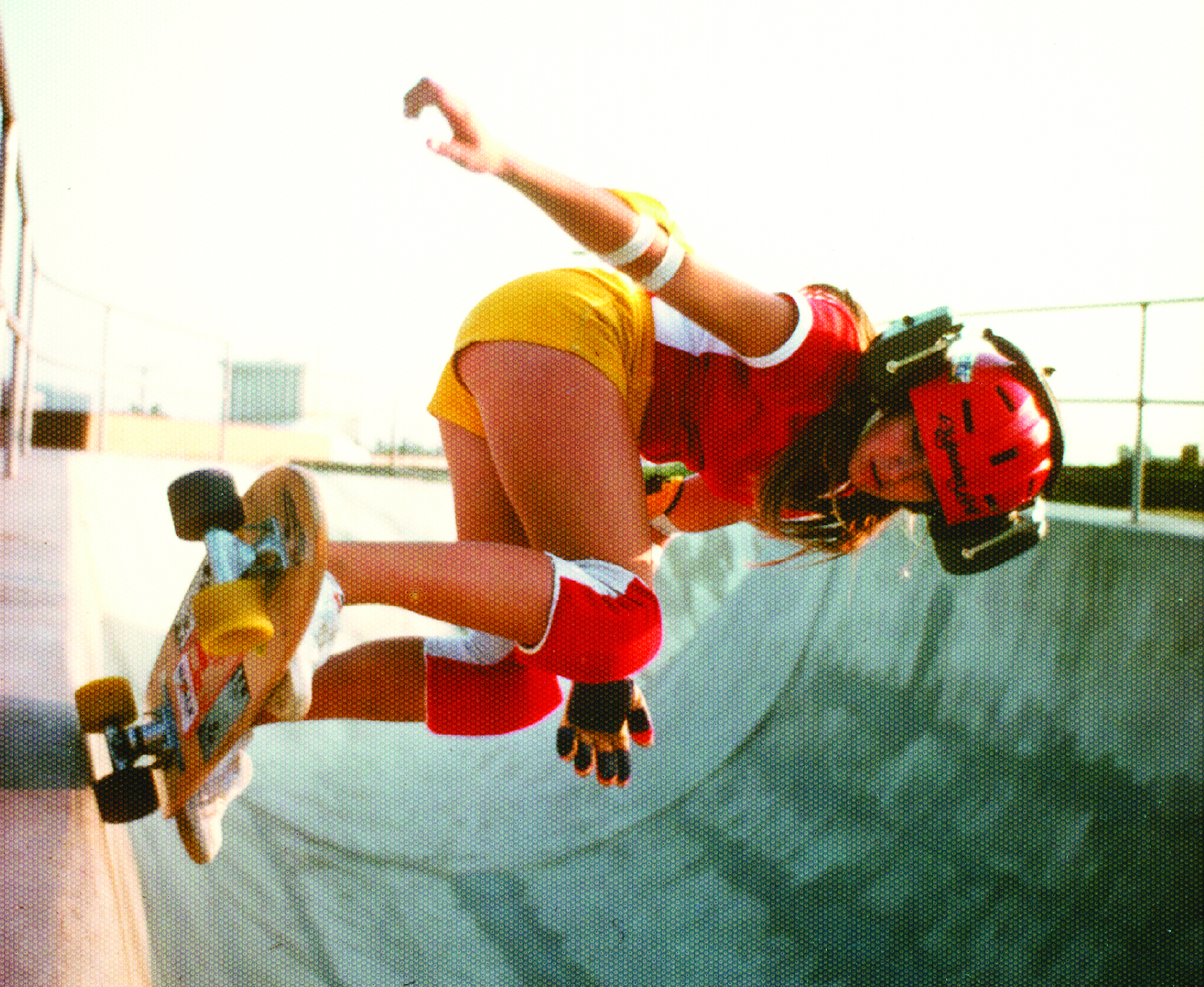 Cindy back in the day 1970's - one of the first! Image from Skateboarding hall of fame.