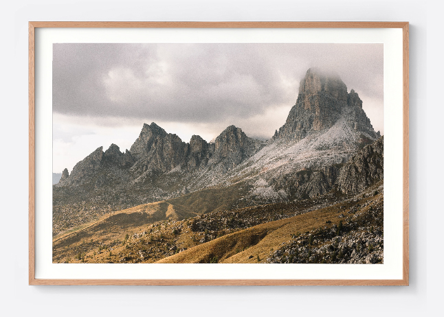 Framed print example