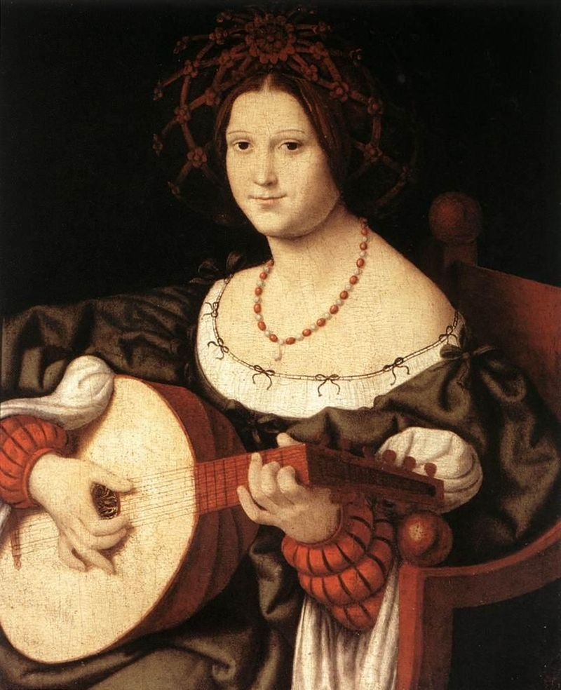 1510 - Andrea Solario 'The Lute Player'