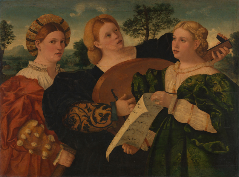 ca 1520 Italian, Venetian 'A Concert'