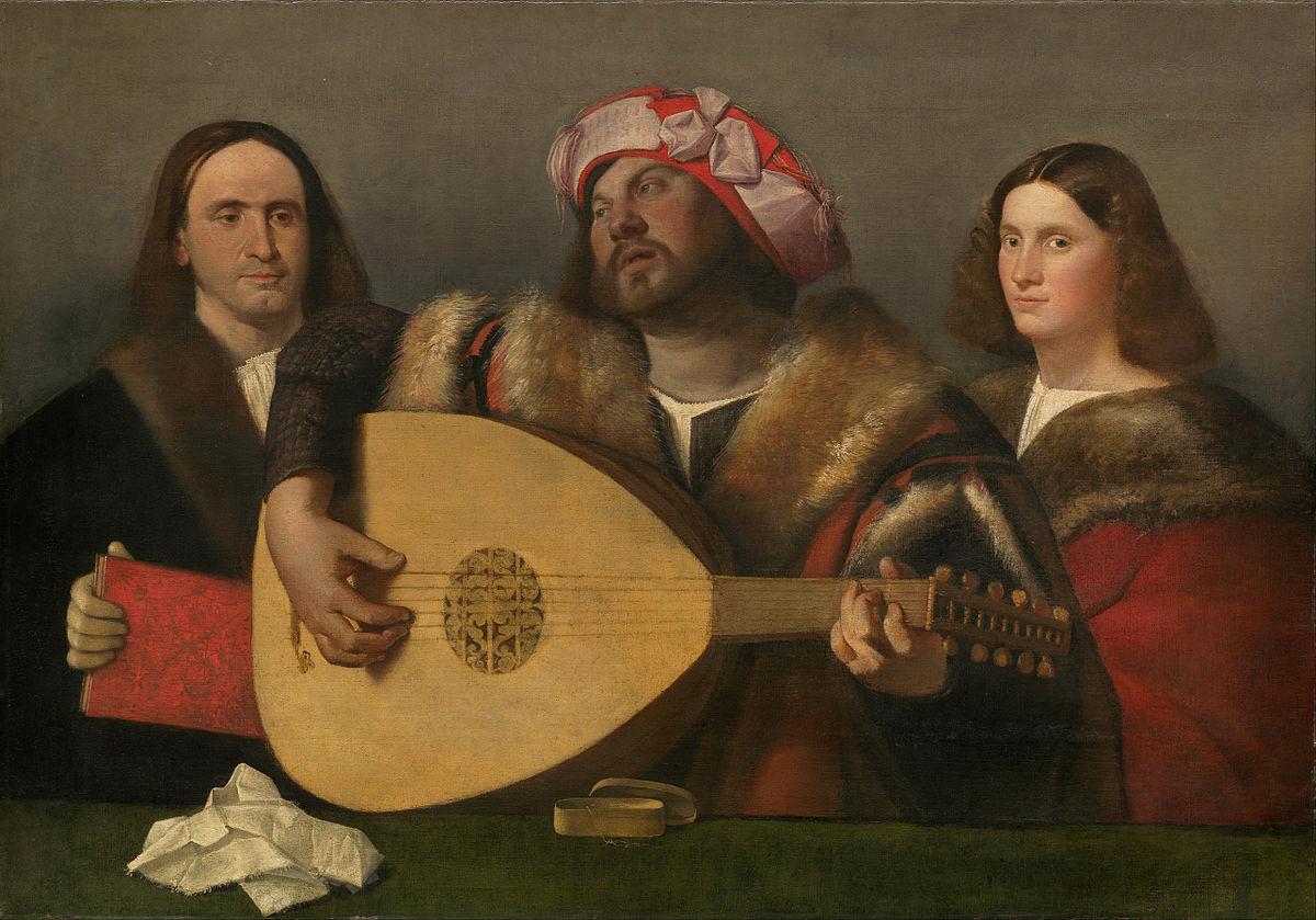 1518-1520 Giovanni Cariani 'A Concert'