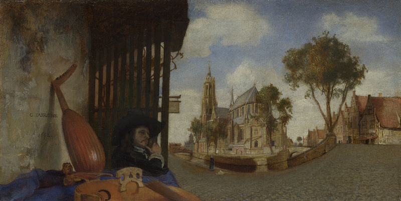 A View of Delft  1652, Carel Fabritius.jpg