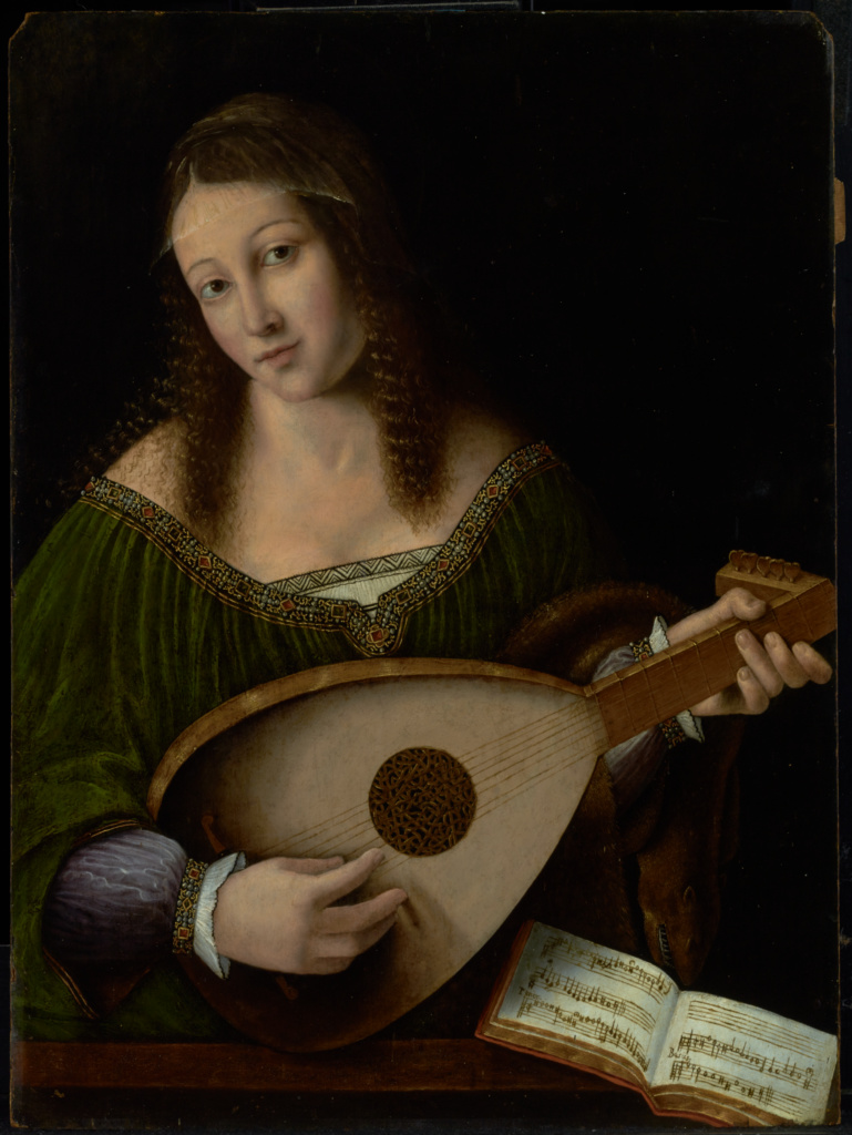 Bartolemo Veneto - Lady Playing The Lute.jpg