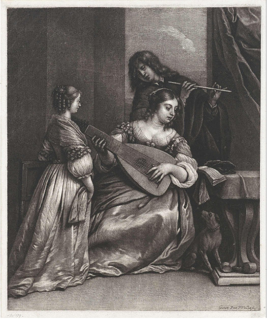 Couple Making Music with a Lute and a Flute Wallerant Vaillant1658_1677.png