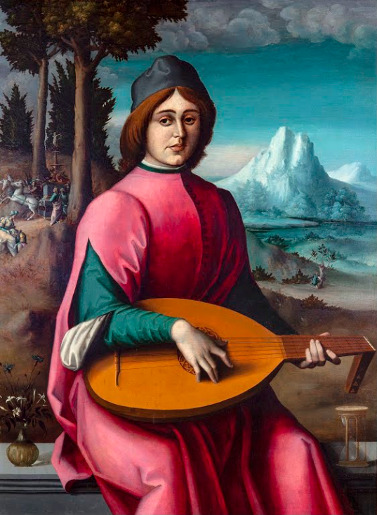 Portrait of a Young Lute Player Francesco Bacchiaccacirca 1524-1525.png
