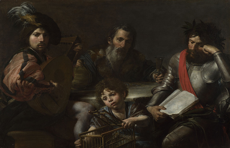 The Four Ages of Man  about 1629, Valentin de Boulogne.jpg