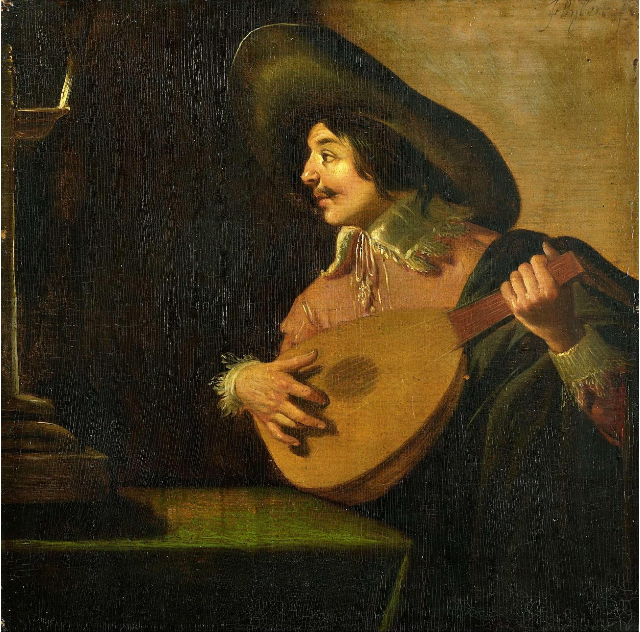 The Lute Player Jan van Bijlertc. 1630 - c. 1640.png