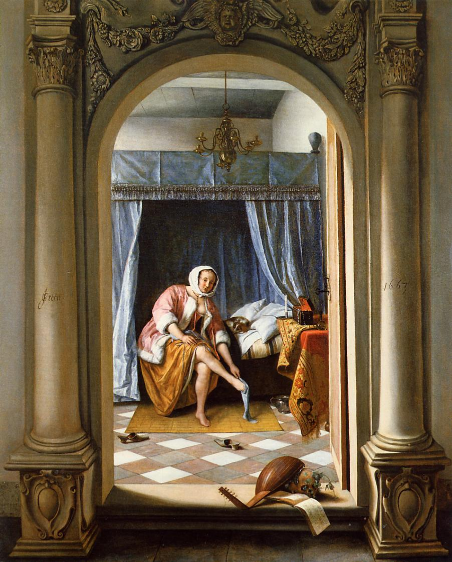 Woman at her Toilet Jan Steen1663.jpg