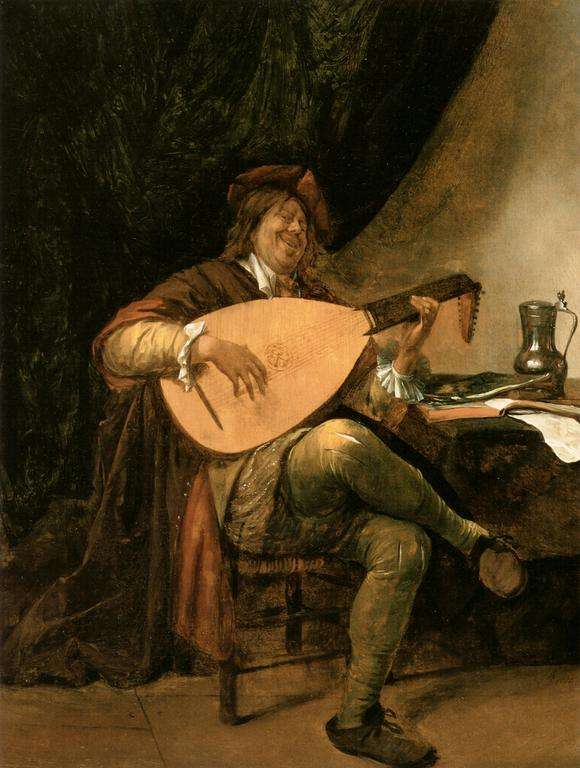 Detail from Jan Steen, Self Portrait playing the Lute, 1655.jpg