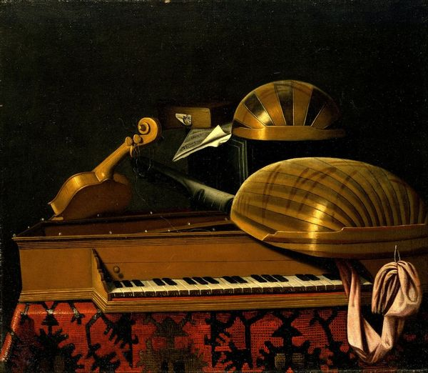 Bartholomeo Bettera - Still Life with Musical Instruments