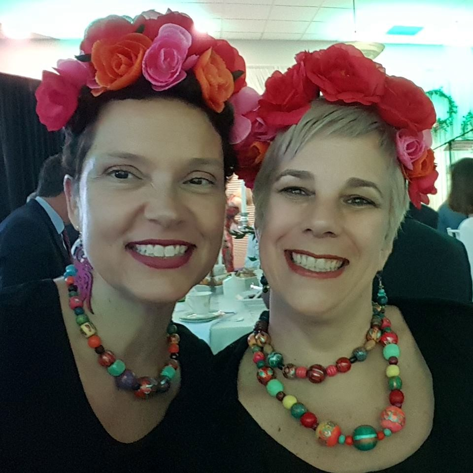 The owners of The Creative Wedge - Barbara Densley and Sloane Solanto