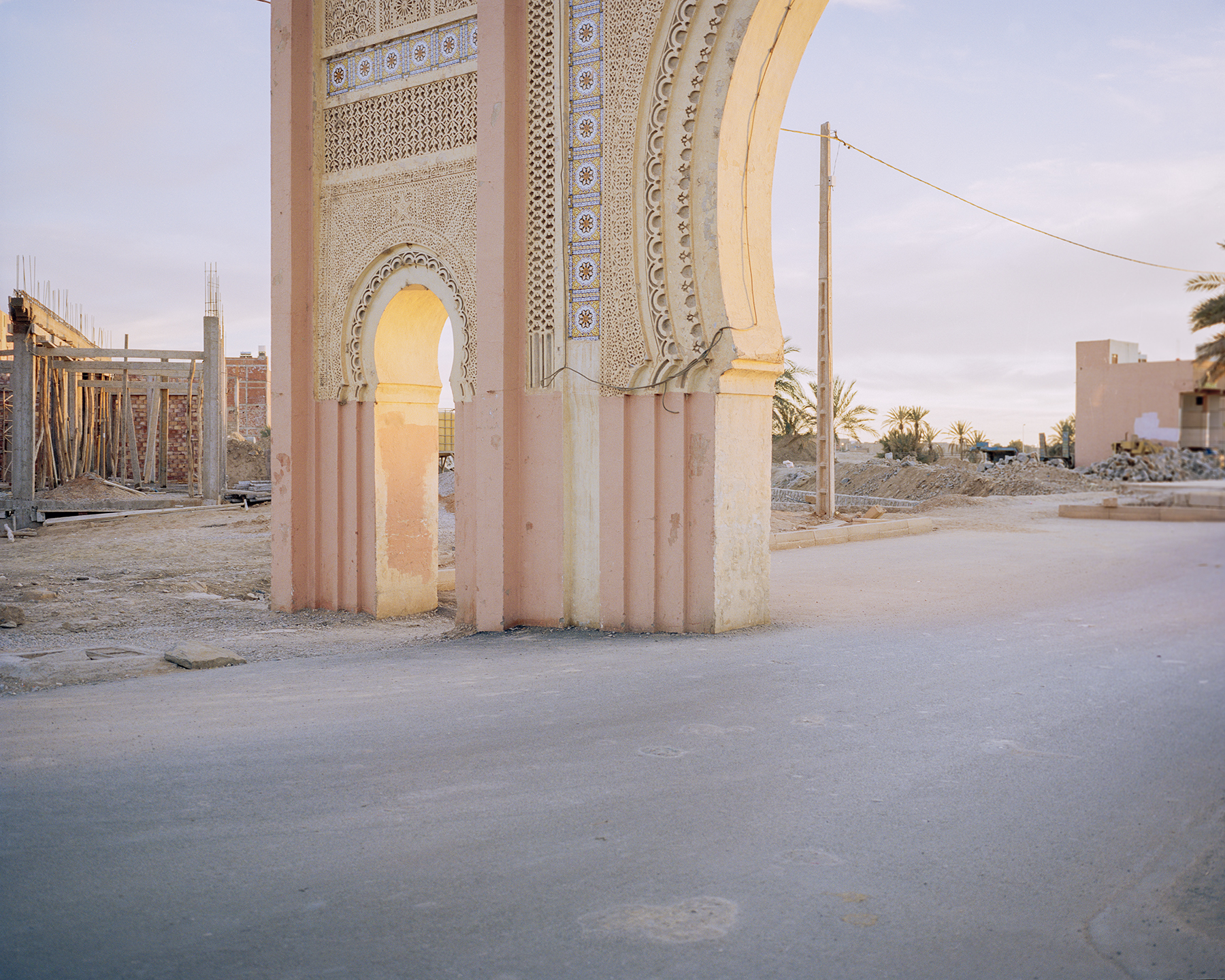 'The Promise' is a project that explores small towns in the northwest edge of the Sahara, Morocco