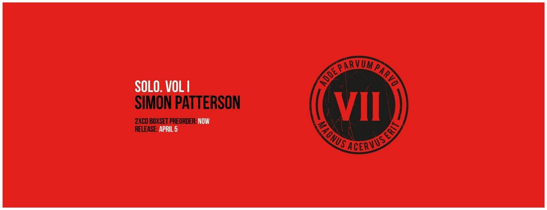 SIMON PATTERSON SOLO VOL 01