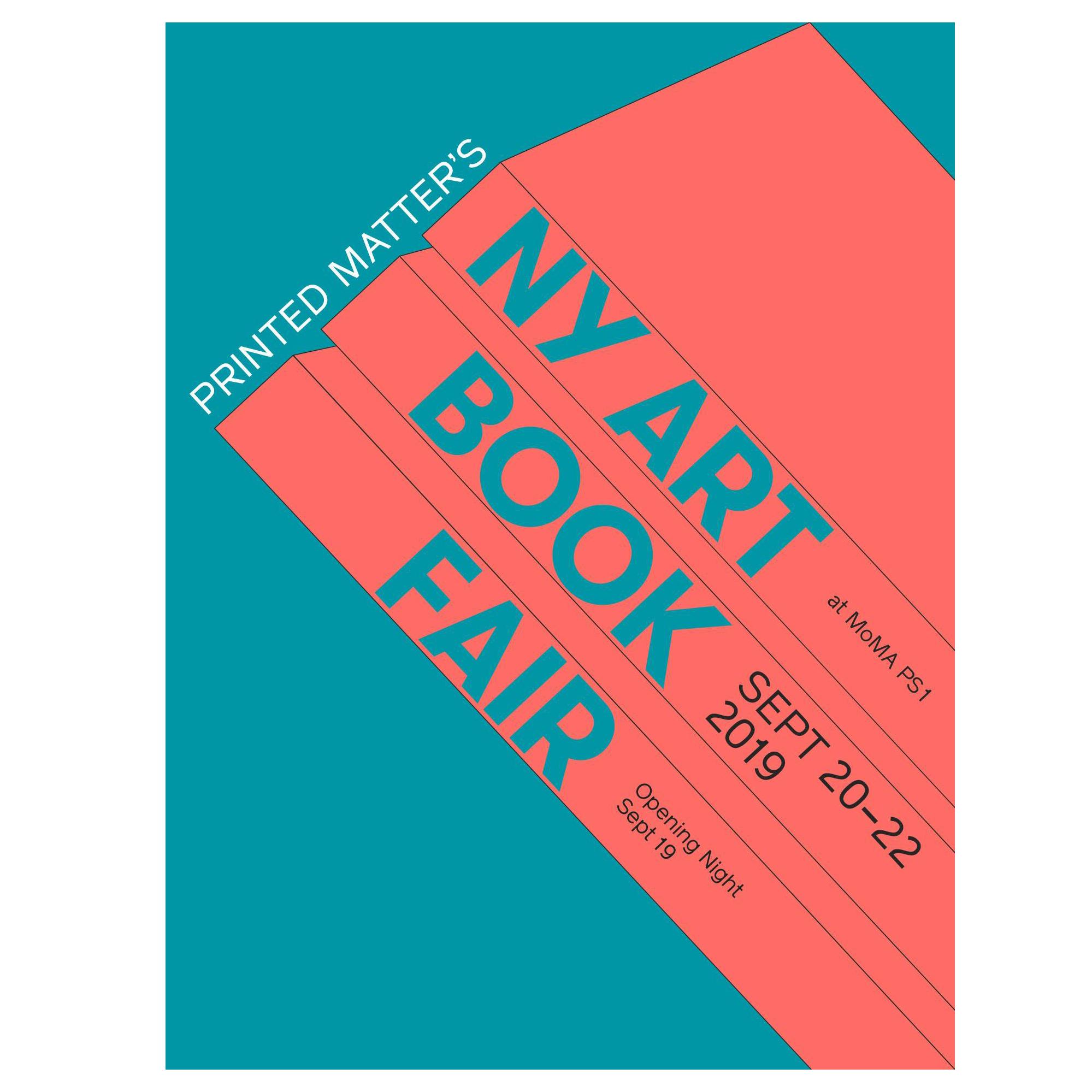 MoMA PS1, 22-25 Jackson Avenue, Long Island City, NY 11101  Booth A42 | Friday, 1-7pm | Saturday, 11-8pm | Sunday, 11-7pm