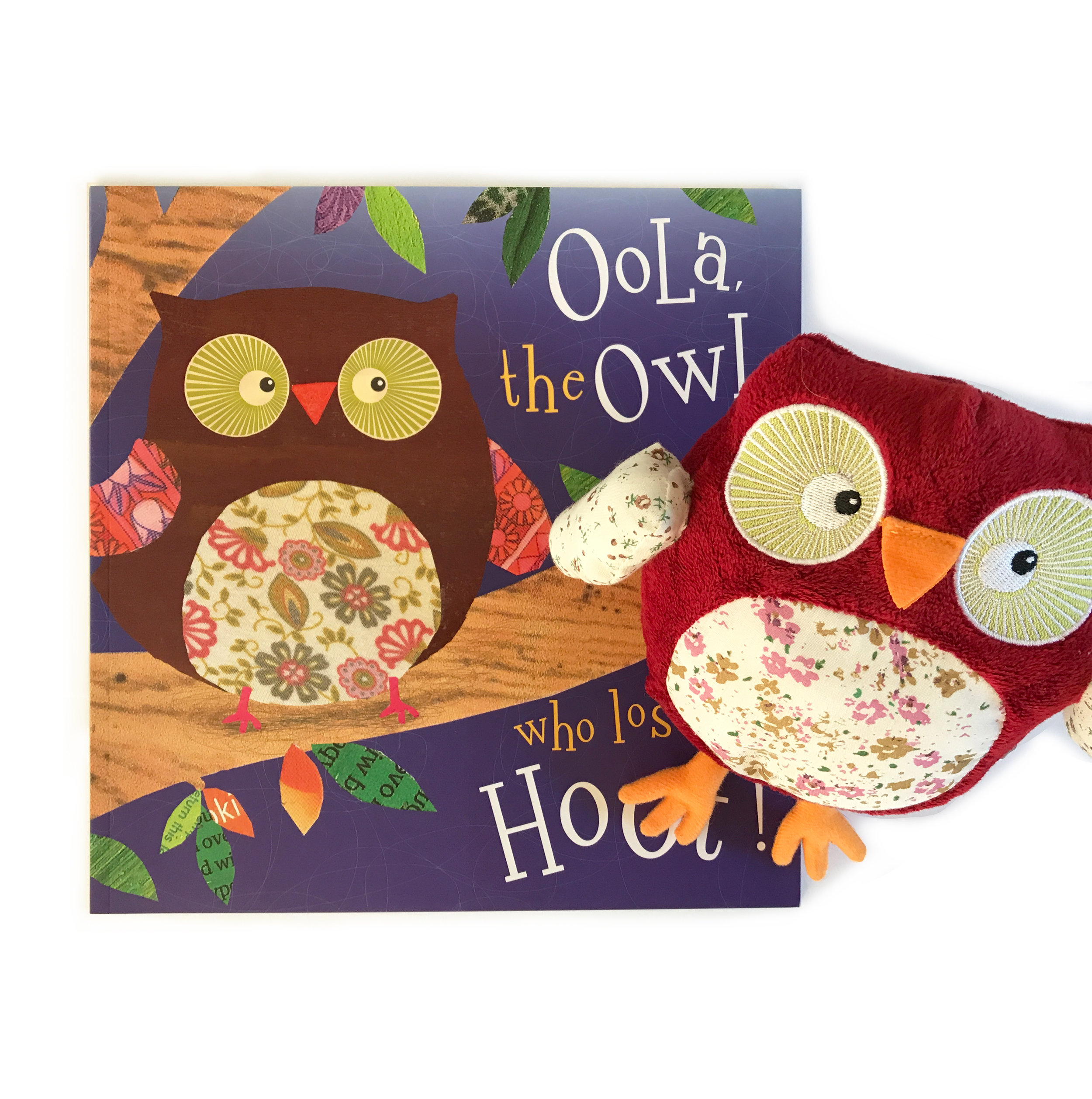 Oola the Owl who Lost her Hoot    (Complete with her plush toy!)