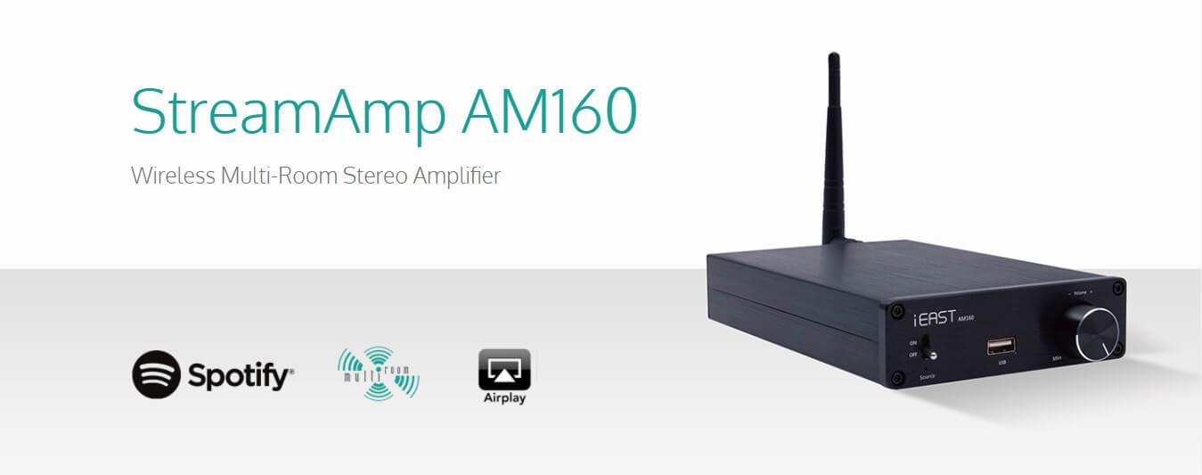 StreamAmp AM160.jpg เครื่อง Sonos ไทย ดีไหม เครื่องเสียงไร้สาย ลำโพง Sonos ราคา ลำโพงไร้สาย เครื่อง ขยาย เสียงไร้สาย เครื่องรับส่งสัญญาณเสียงไร้สาย ระบบเสียงไร้สาย ระบบเสียงหลายห้อง iEAST/Audiocast