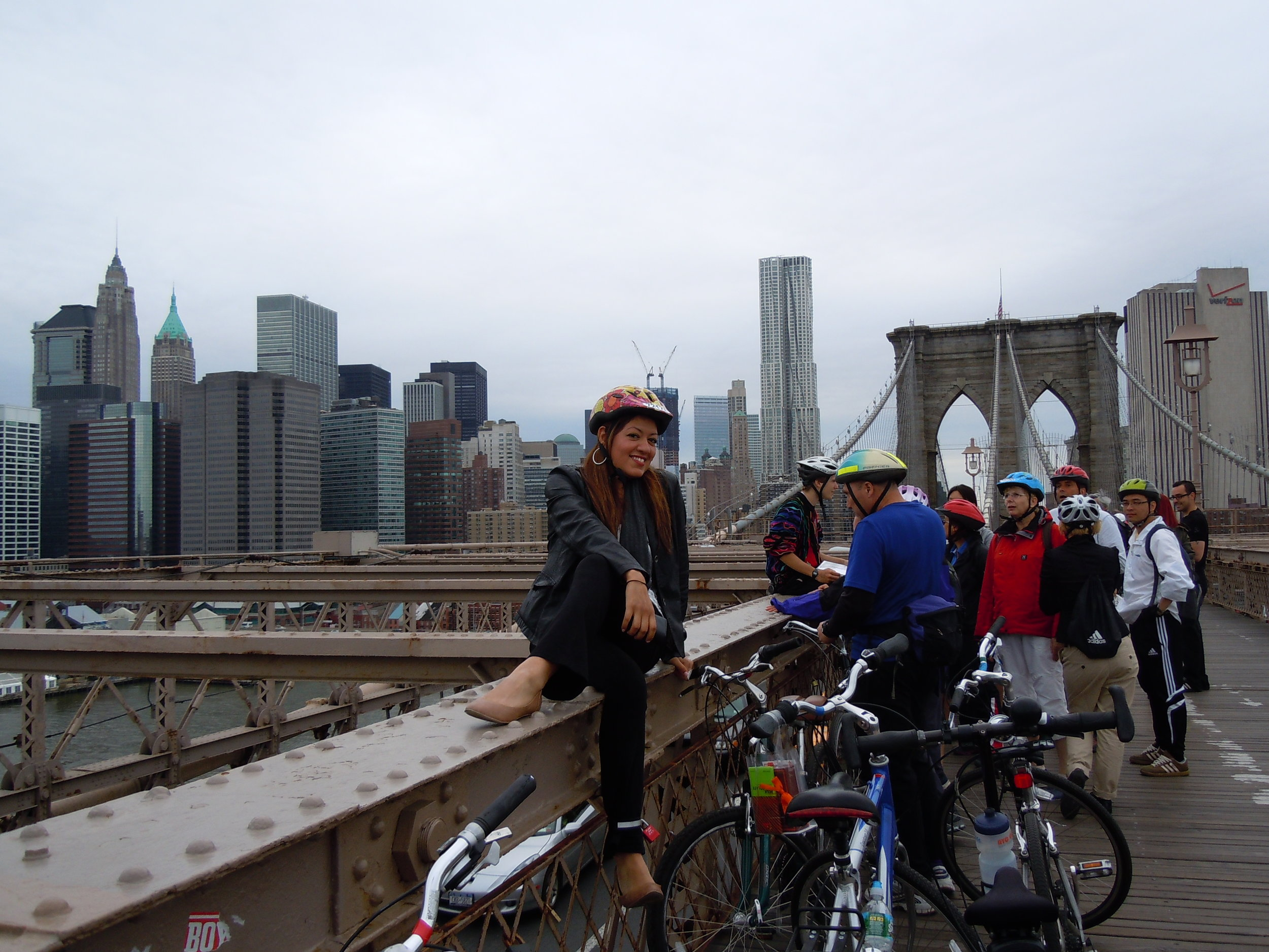 Brooklyn Bridge bike tour 2011