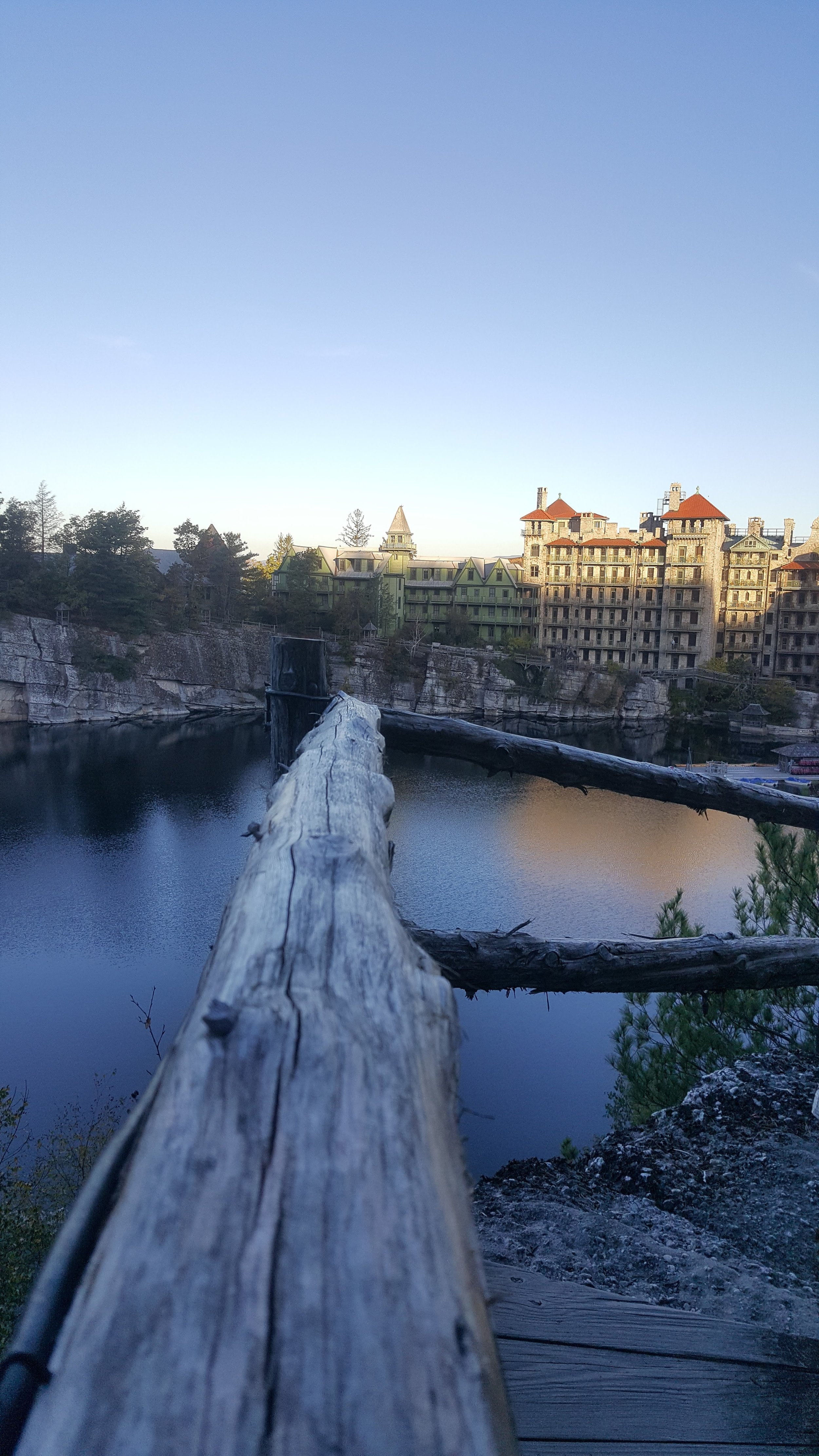 early morning at mohonk mountainhouse