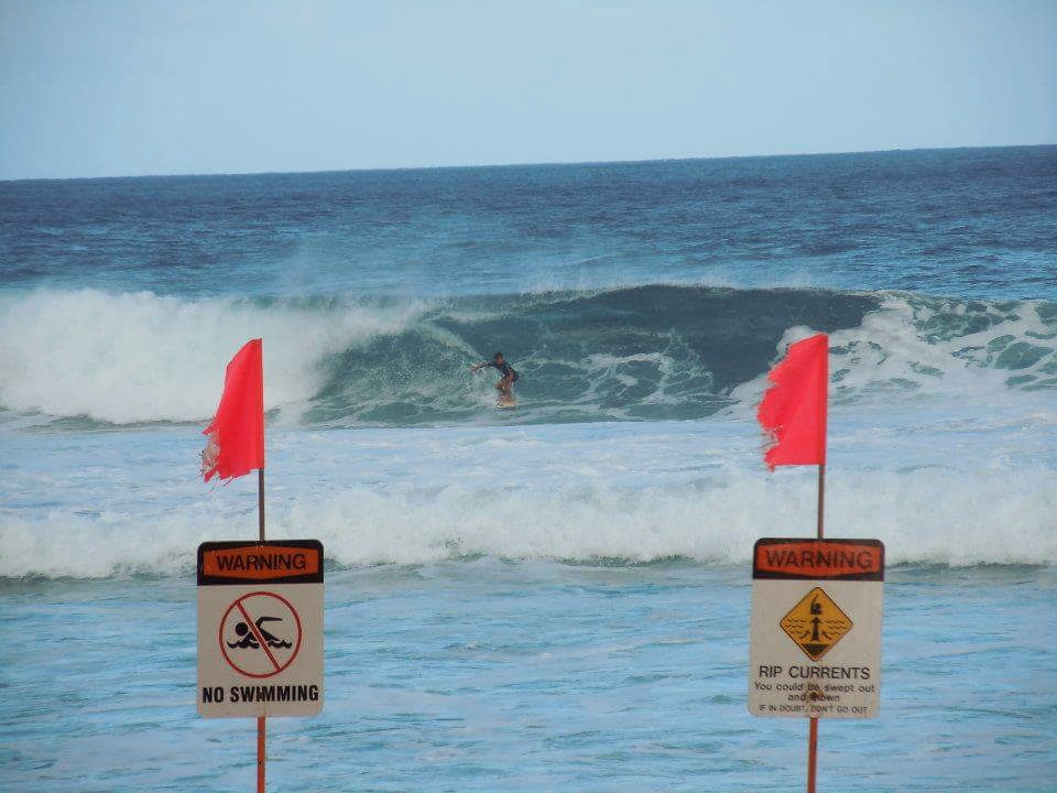Catching an international surf competition in the North Shore's infamous Banzai Pipeline. Such an adrenaline rush!
