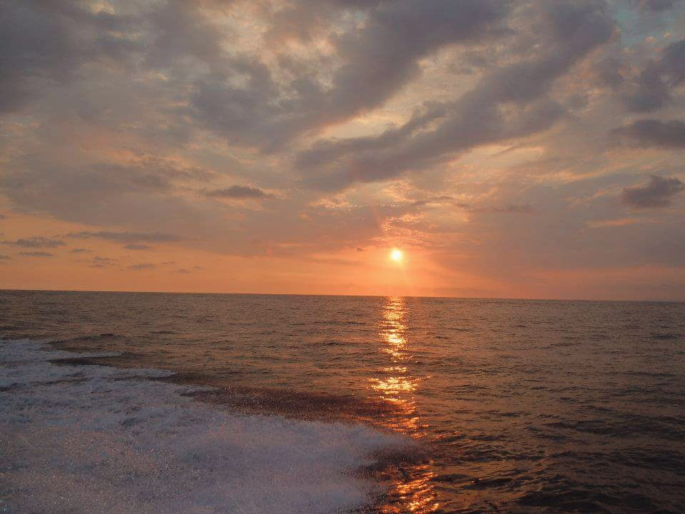 Sunset over Jaco in Costa Rica. What are you waiting for? Book that trip!!