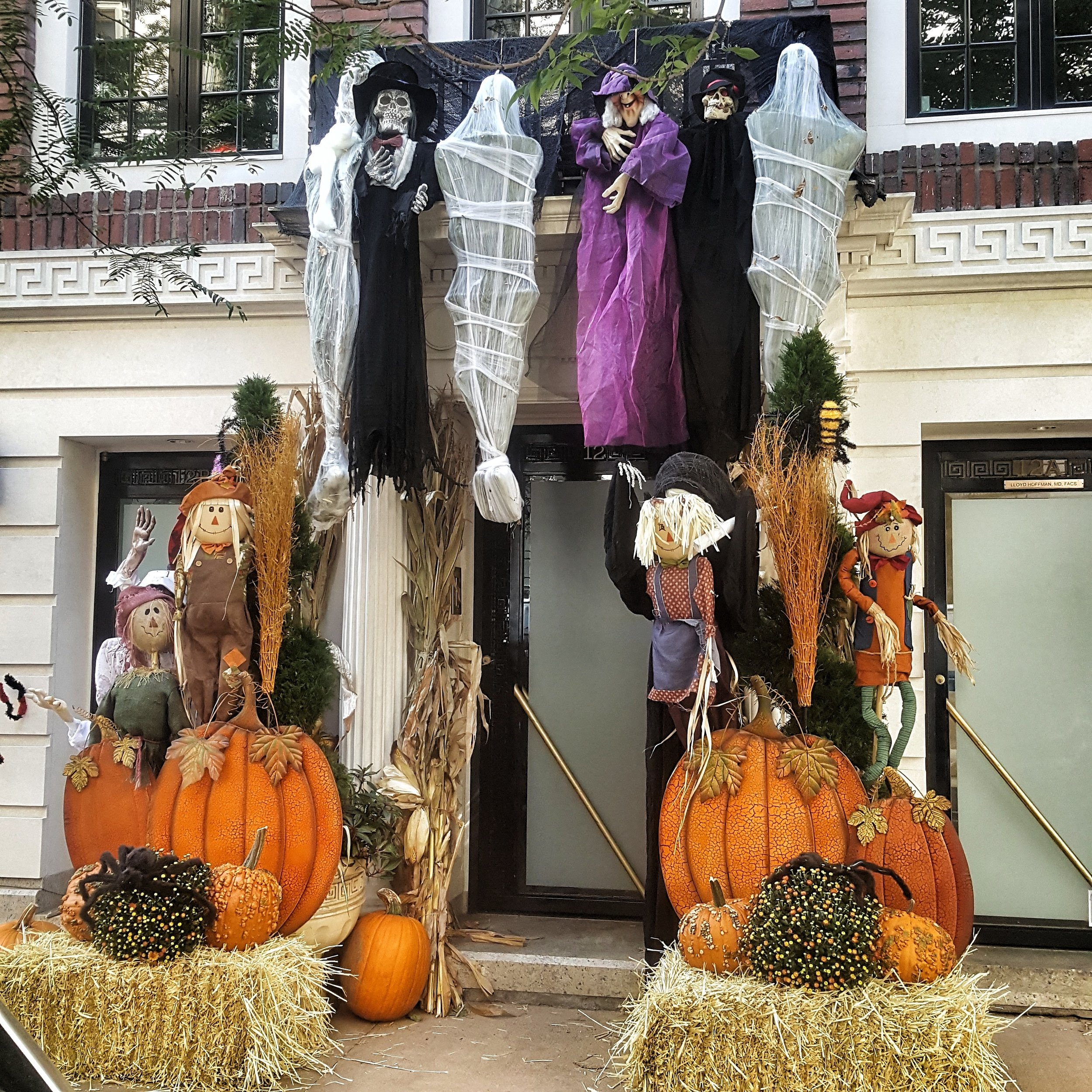 Halloween in the city