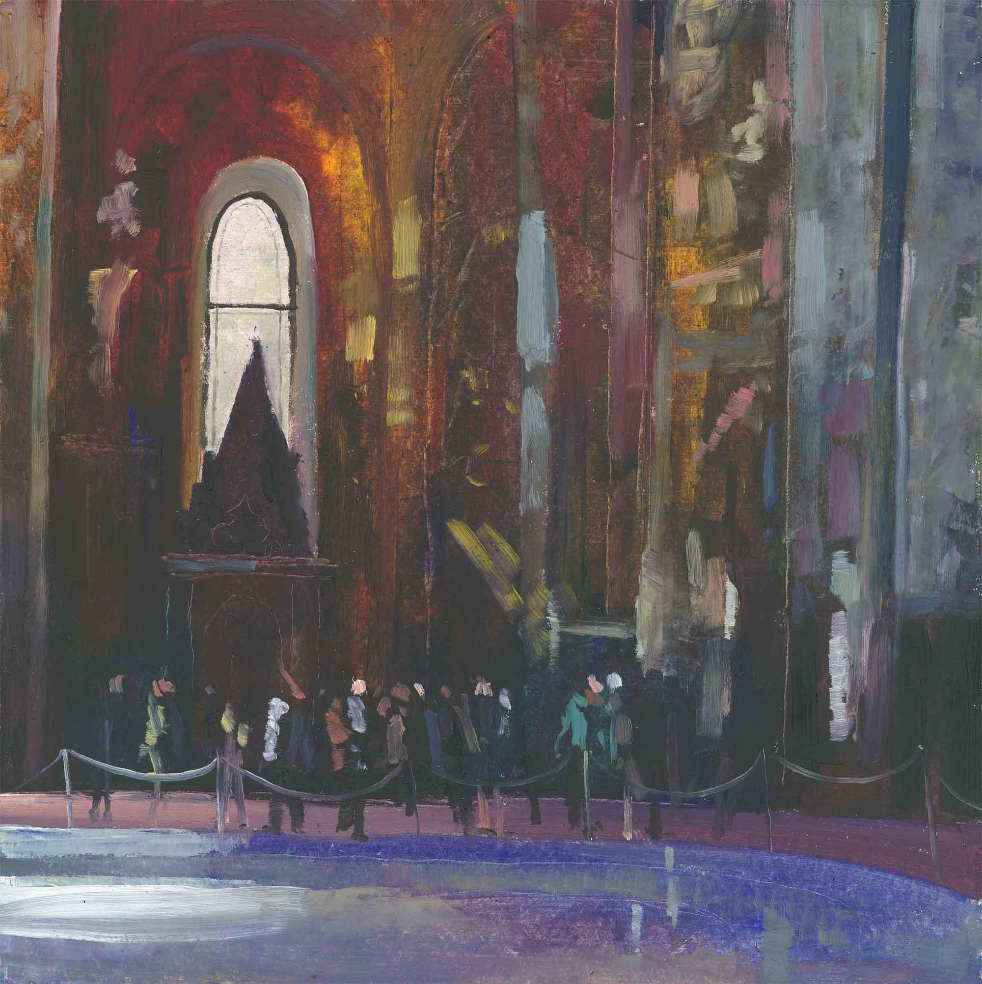 Interior Russian Church ( Edition of 95 )