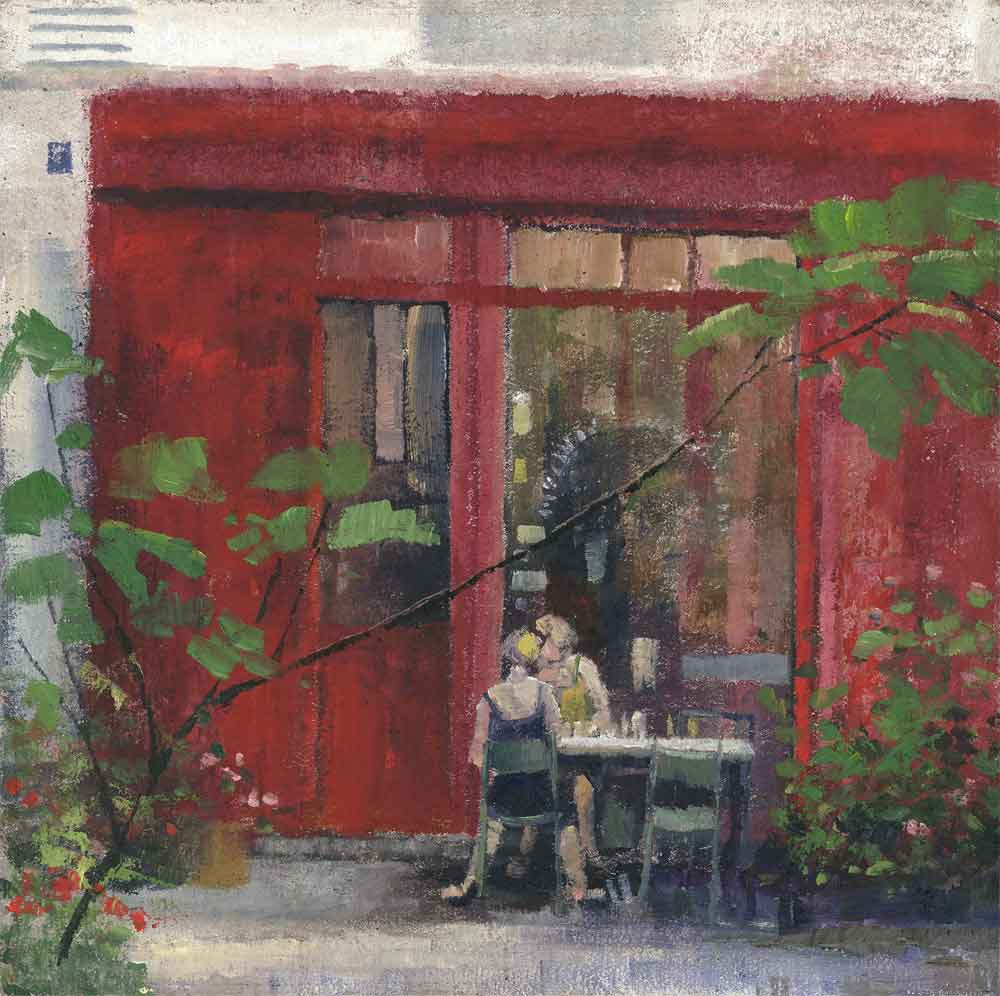 Secluded Cafe ( Edition of 195 )