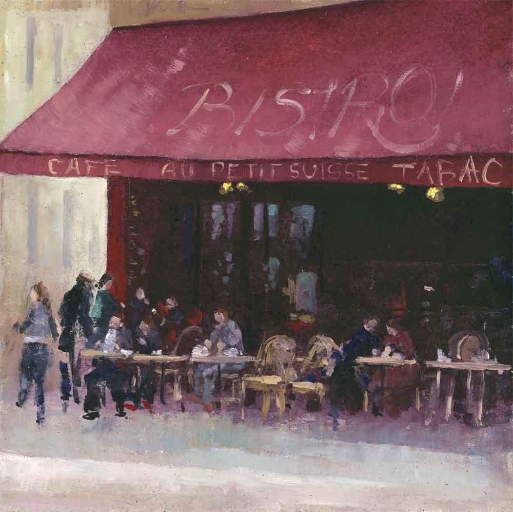 Street Cafe Paris ( Edition of 195 )
