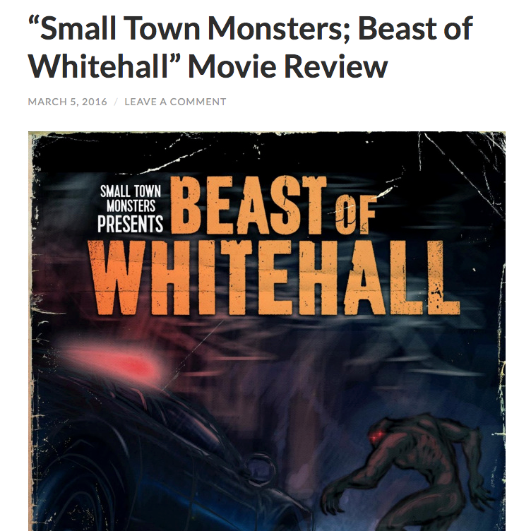 "Review: Search the Woods (3/5/16)   In this review on the documentary Beast of Whitehall, the following is said about Brandon's score: ""The music matches the movie seemingly scene to scene. There's an eeriness in much of the score that somehow avoids 'creepy'. It's not a 'monster' movie in the way most of us have become familiar. It's a story. It's a part of a town that is more interesting than anything Hollywood could dream up. The music reflects that. I would imagine that's a hard, very thin line, to walk but Brandon Dalo did it very well."""