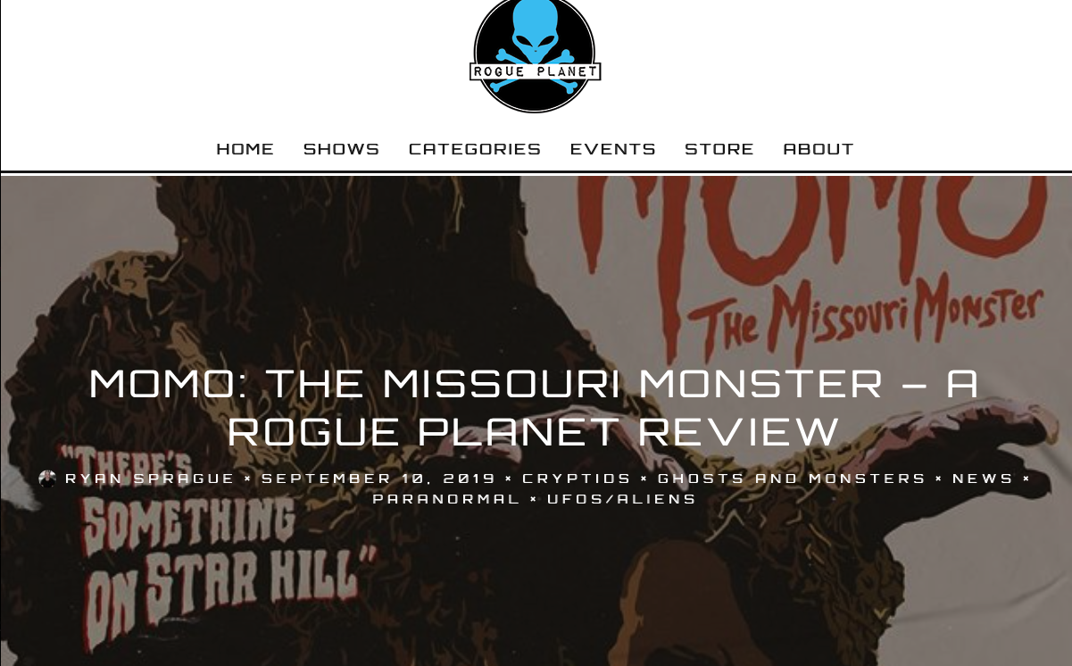 """Review: Rogue Planet (9/10/19)   Rogue Planet says Brandon's MOMO score is """"wonderful""""."""