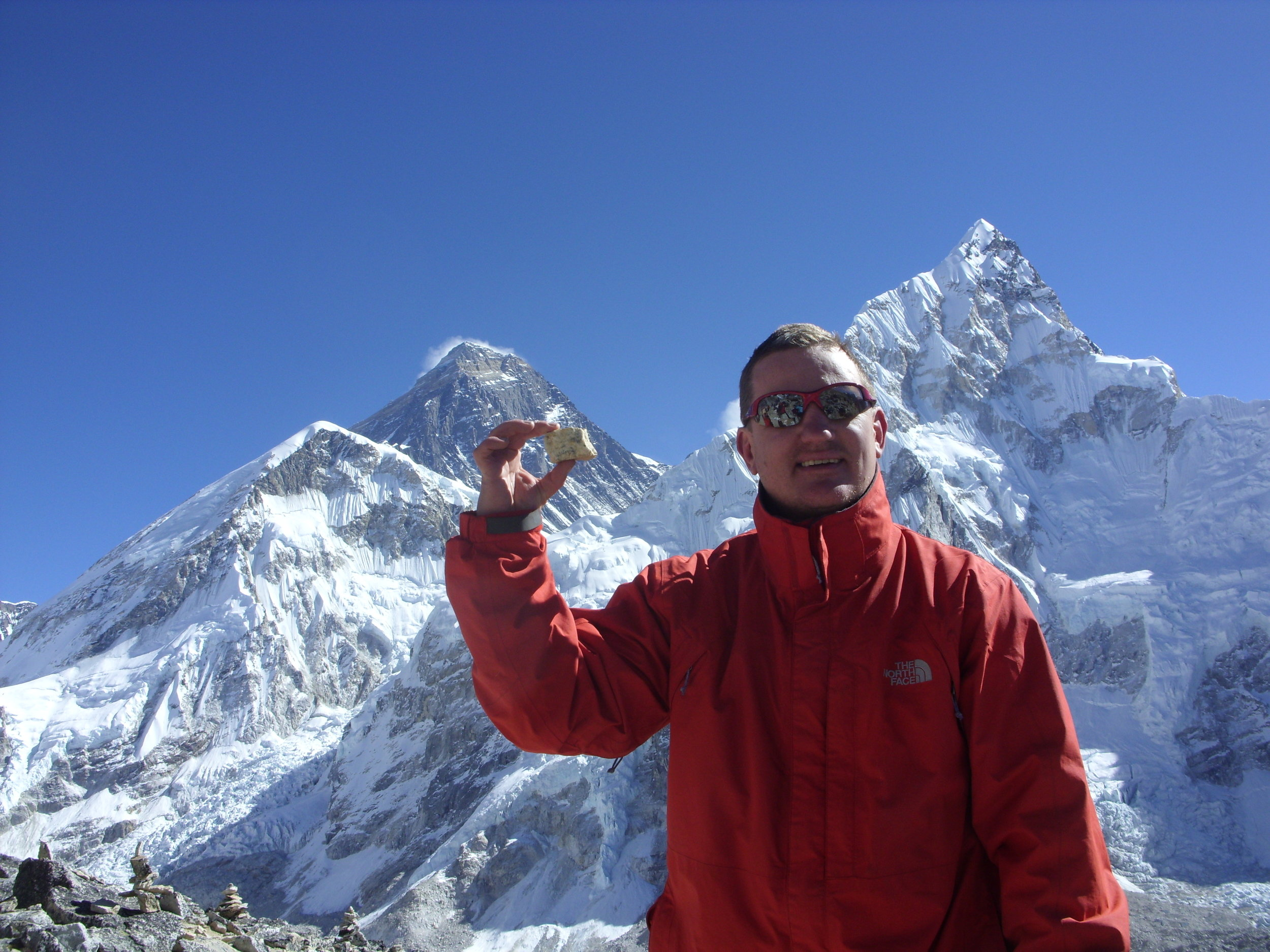 Everest Base Camp, Christmas Eve, 2009