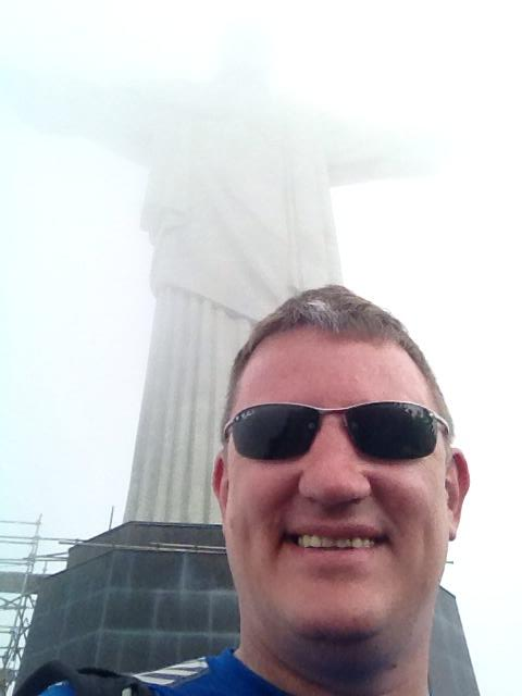 unfortunatly, due to cloud, 'Bob the Redeemer' has a shite view of Dave Mills.